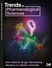 a Trends in Pharmacological Sciences cover
